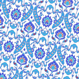 13906275-Vector-of-Islamic-flower-Pattern-on-white-Stock-Vector-islamic-persian-art